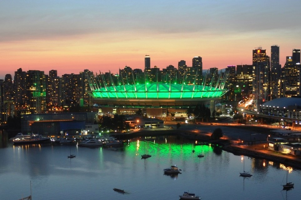 BC Place, Vancouver, BC - Courtesy of BC Place