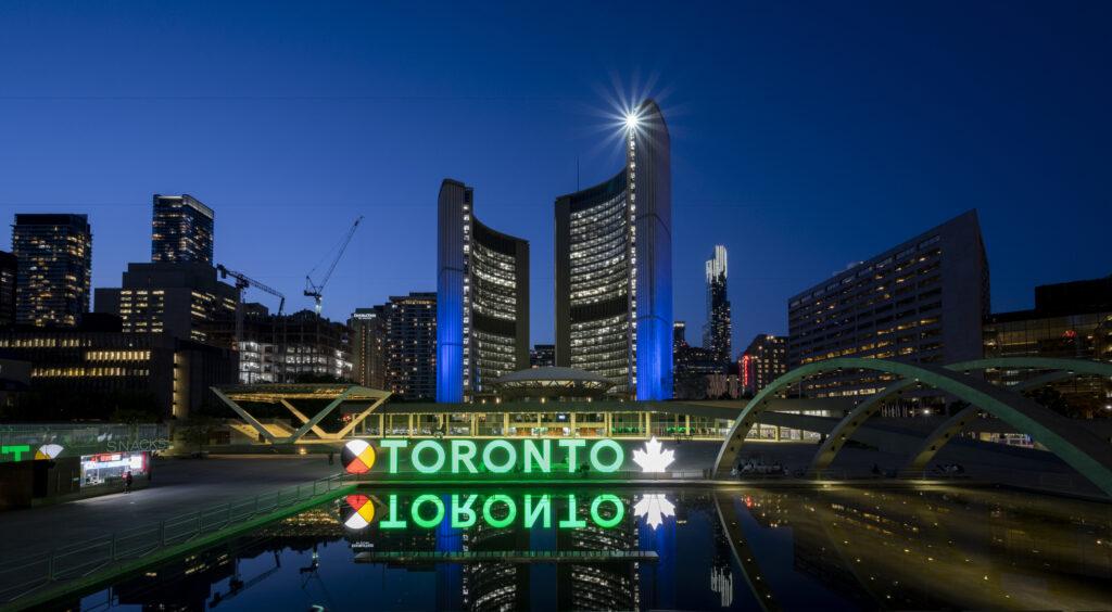 3D Toronto Sign, Toronto, ON - Courtesy of City of Toronto