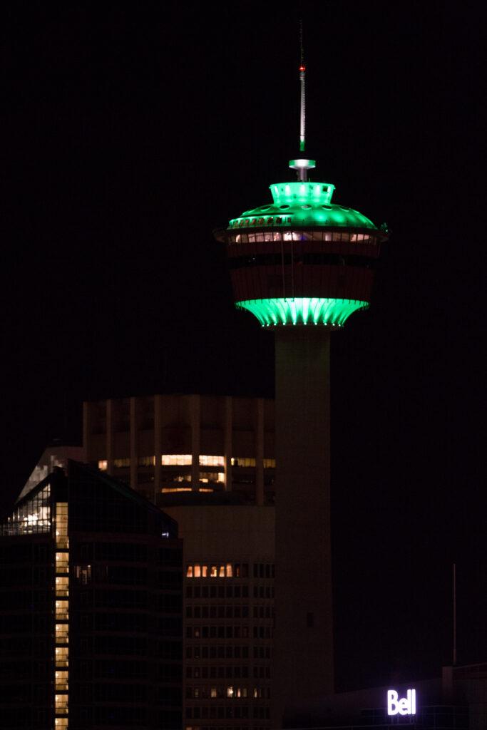 Calgary Tower, Calgary, AB - Courtesy of Calgary Tower