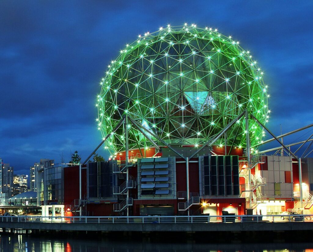 Science World, Vancouver, BC - Courtesy of Science World
