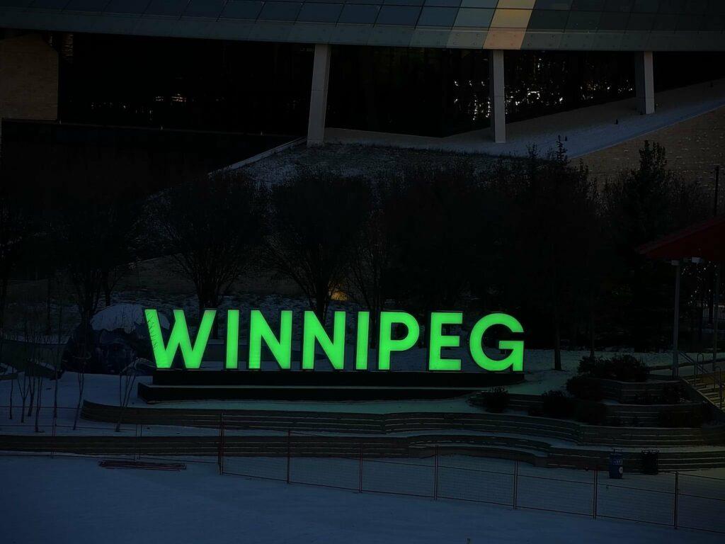 Winnipeg Sign, Winnipeg, MB